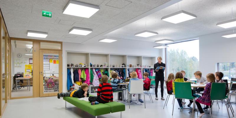 SAUNALAHTI SCHOOL, Espoo